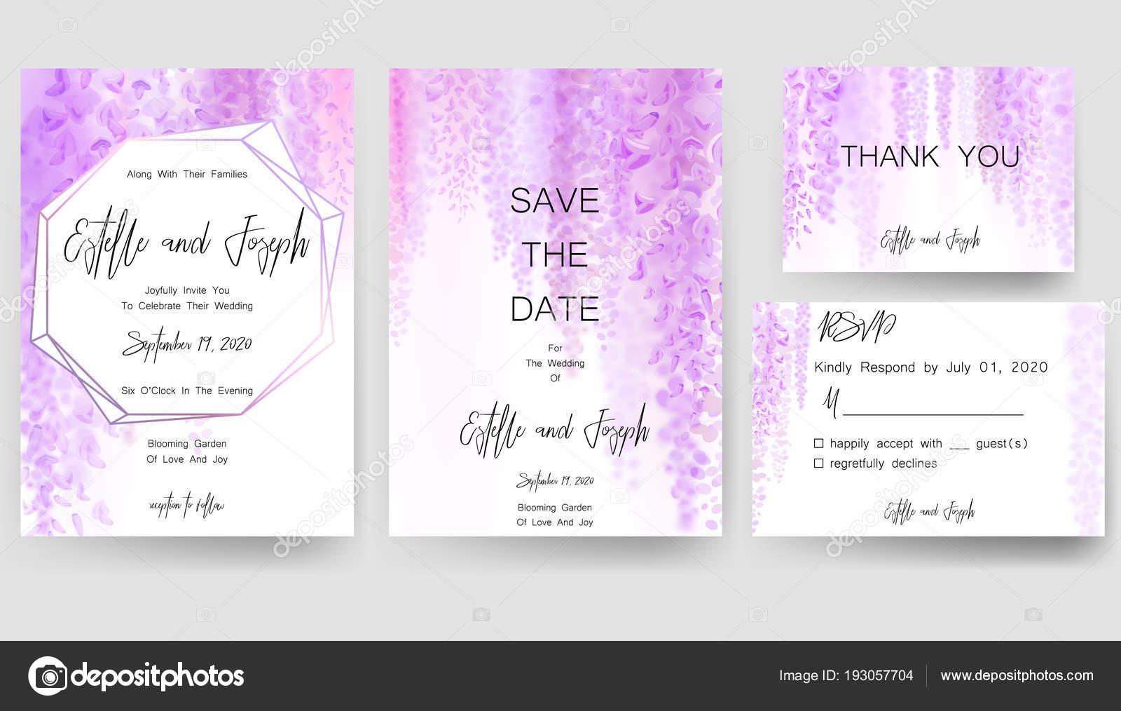 Speichern Von Datum Karte Hochzeitseinladung Grußkarte Mit Schönen