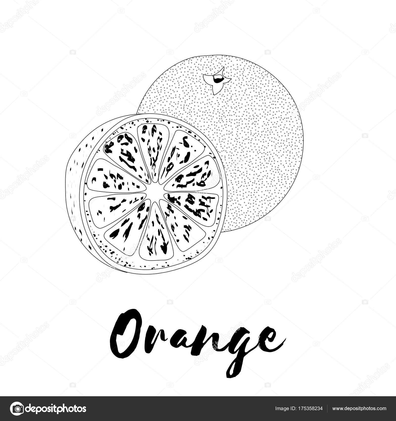 Perfecto Colorear Naranja Colección de Imágenes - Ideas Para ...