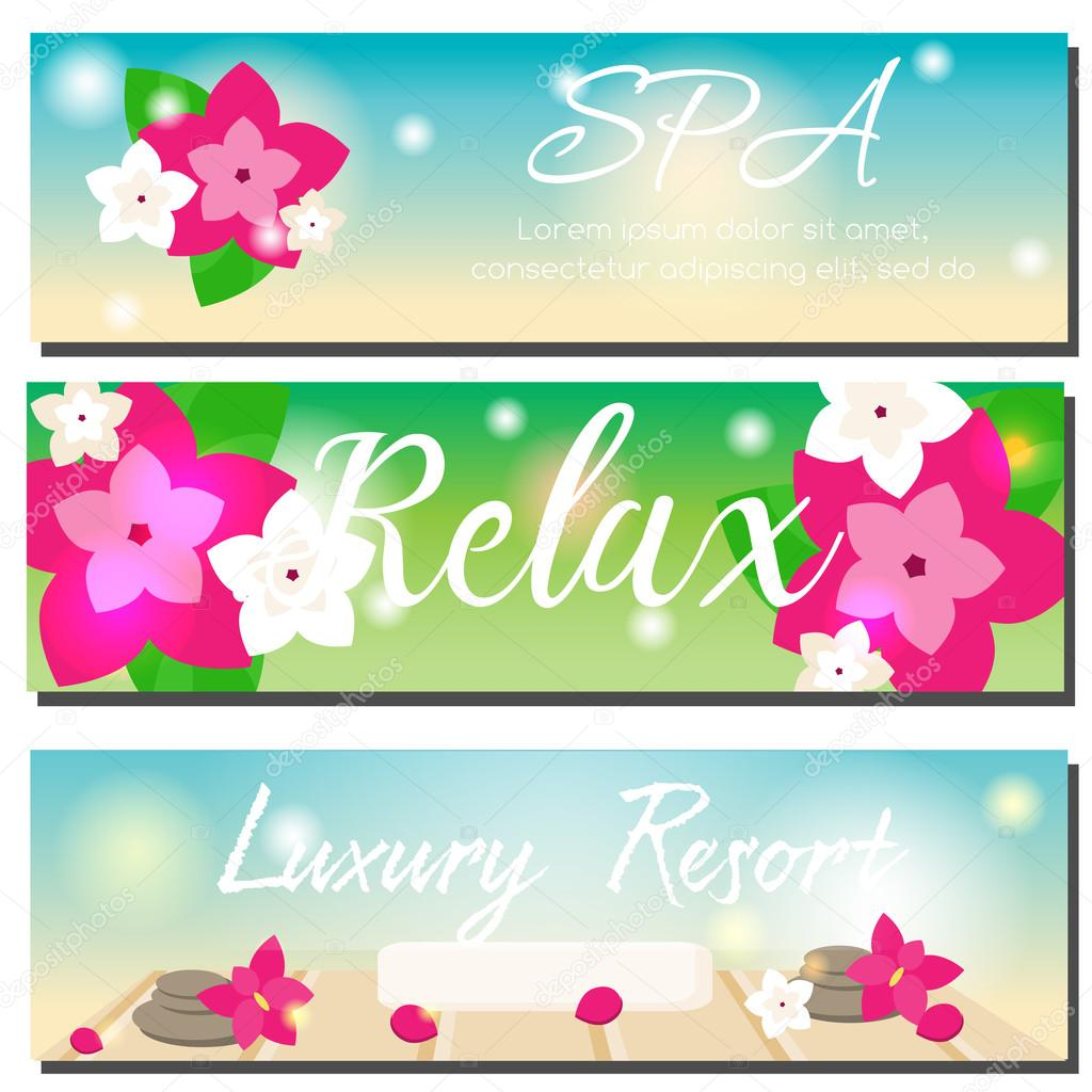 Images Beauty Parlour Advertisement Spa Horizontal Banners Beauty Salon Luxury Hotel Resort Advertising Stock Vector C Bonnyheize Gmail Com 127880232