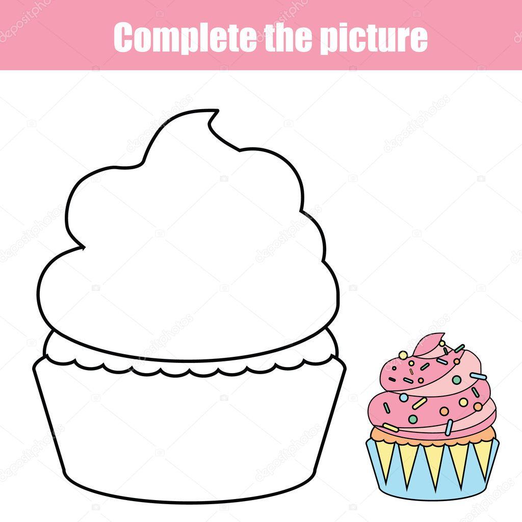 Füllen Sie die Bild-Kinder Bildungs Zeichnung Spiel. Malvorlagen für ...