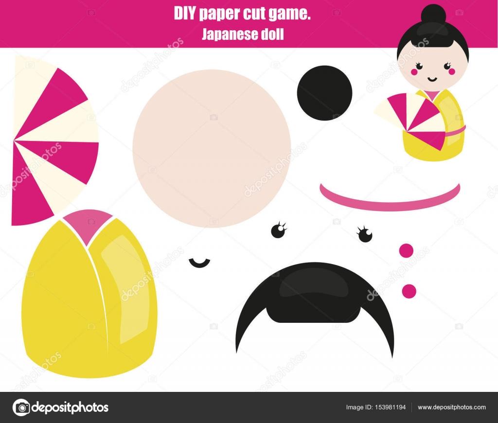 Imagenes Chicas Japonesas Para Imprimir Juego Creativo Educativo