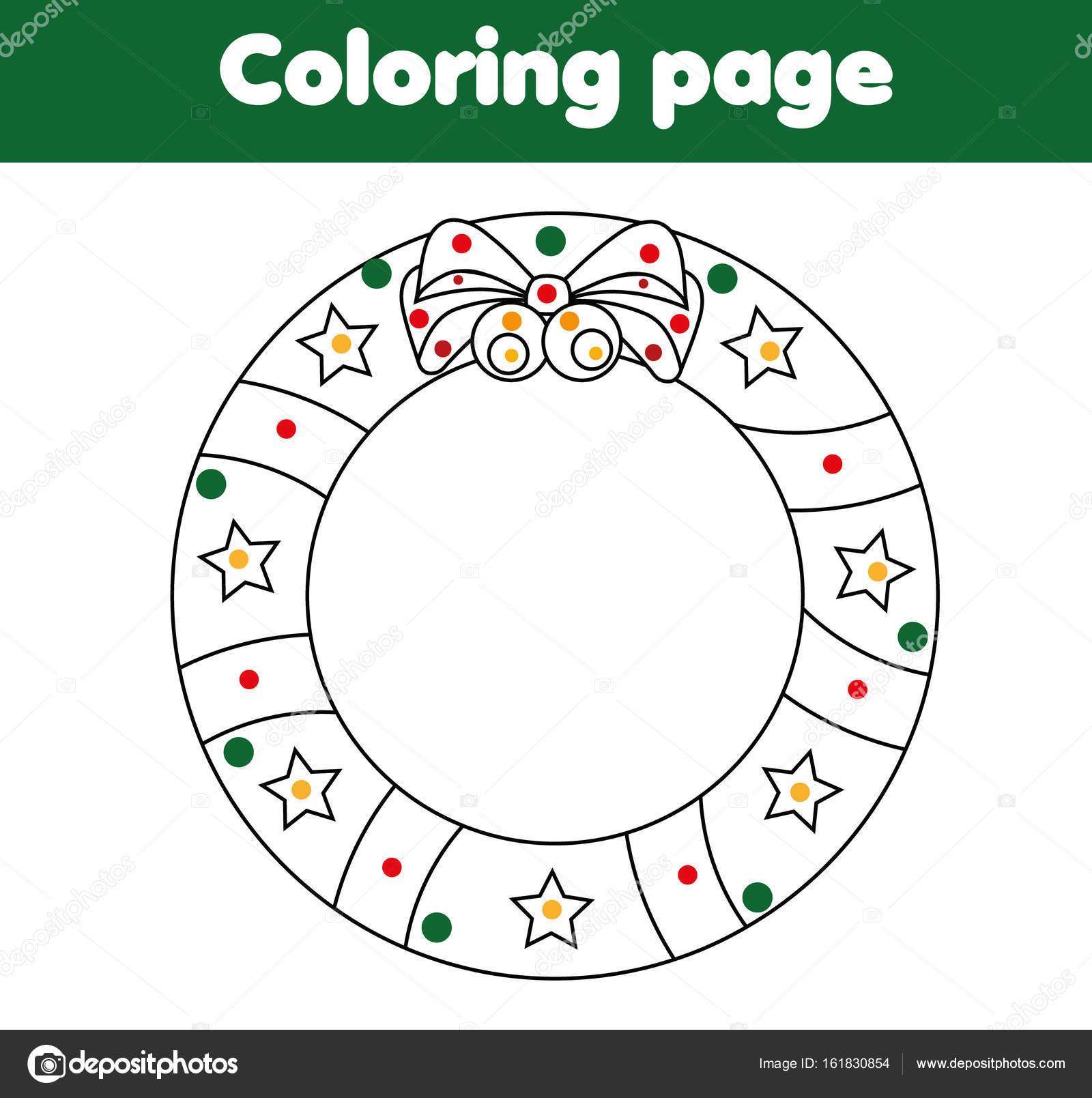 Malvorlagen Mit Adventskranz Lernspiel Zeichnung Aktivitäten