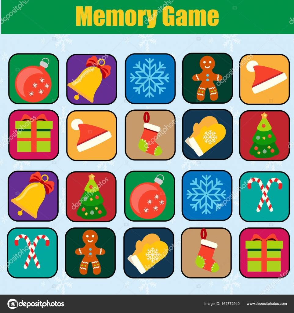 Juegos De Memoria Para Ninos De Navidad Juego De Ninos Educativo