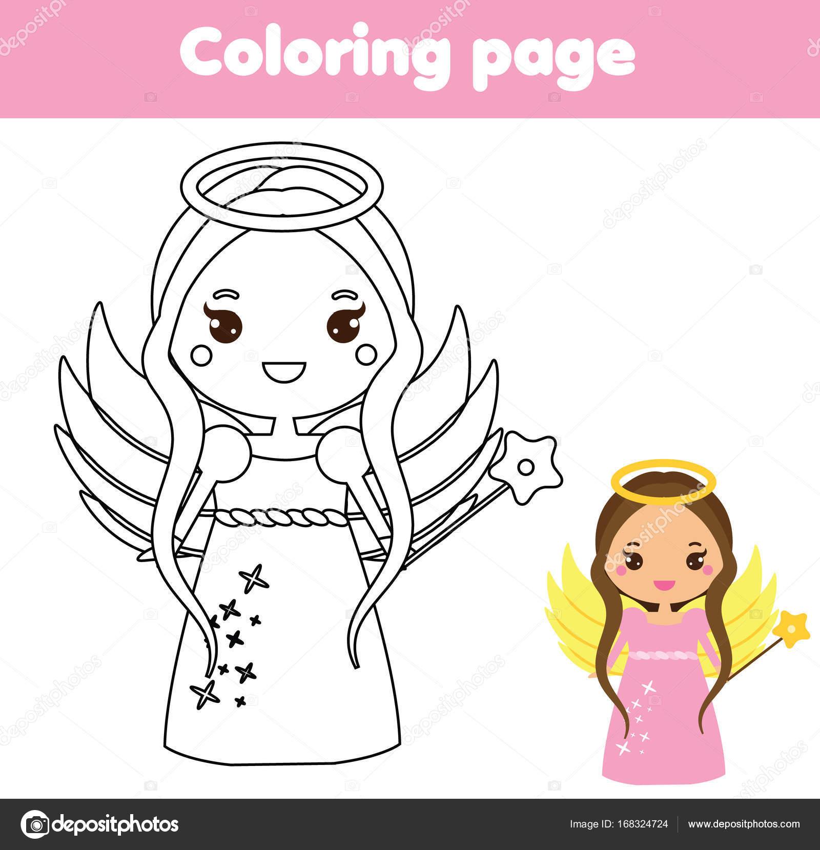 Dibujos Kawaii Para Imprimir Página Para Colorear Con Carácter