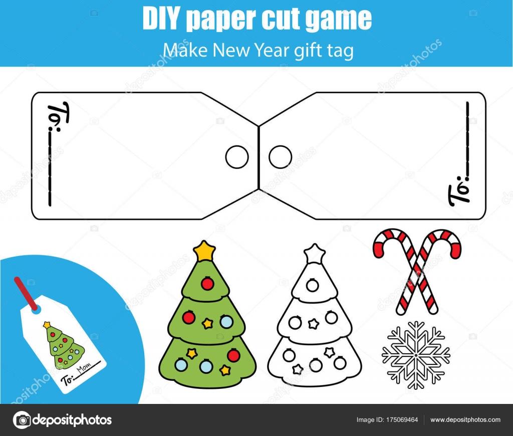 Schneiden Sie aus und fügen Sie Lernspiel für Kinder ein. Papier ...