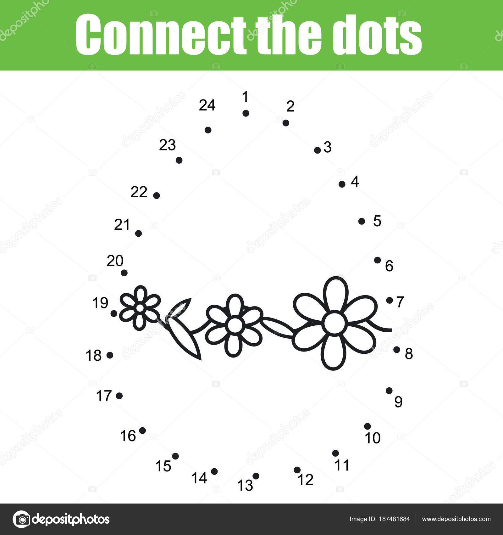 Osterspiel. Verbinde die Punkte durch Zahlen. Lernspiel für Kinder ...