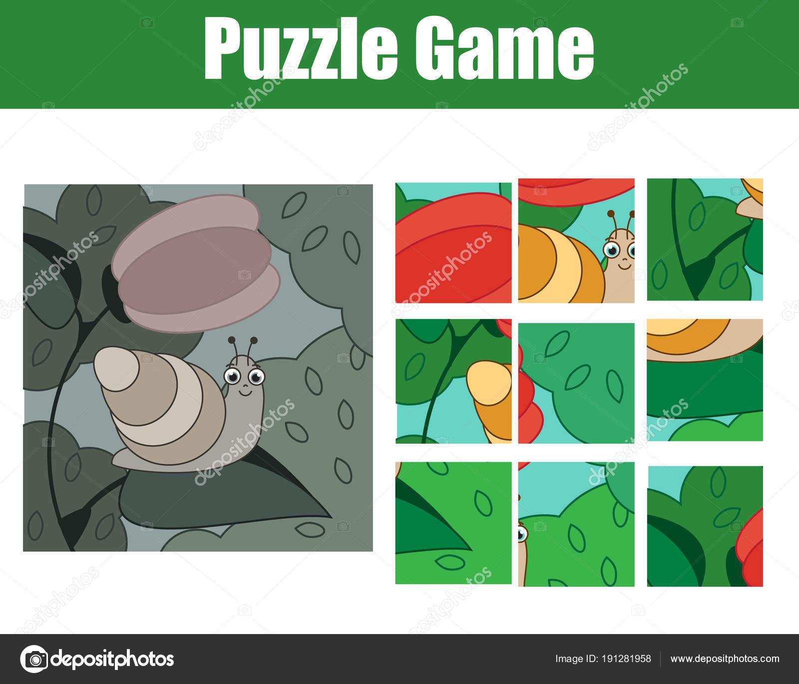 Puzzle für Kleinkinder. Runden Sie das Bild ab. Mosaik-Spiel mit ...