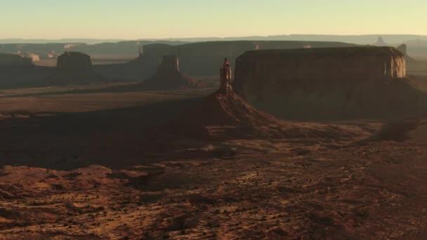 Monument Valley Big Indian Sentinel Mesa Légi forgás Délnyugat-USA