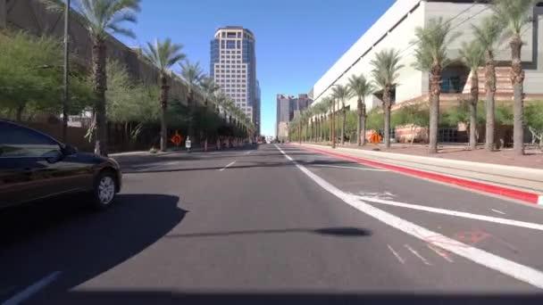 Phoenix Arizona Vezetés Sablon Downtown 9 Washington St