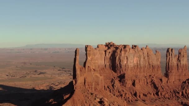 Monument Valley Stagecoach Buttes Sunset Aerial Shot Jihozápad USA