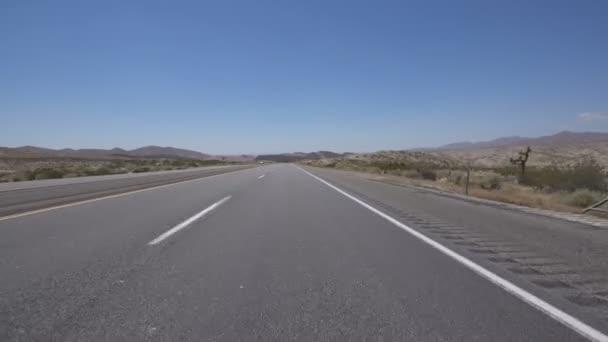 Desert Highway Joshua Tree Driving Template Front View 2 California USA
