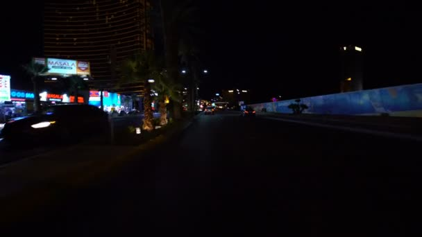Las Vegas Strip Driving Plate Southbound bei Nacht 7 bei Encore Nevada USA