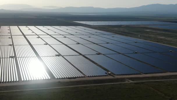 Solarkraftwerk für erneuerbare Energien in Kalifornien USA