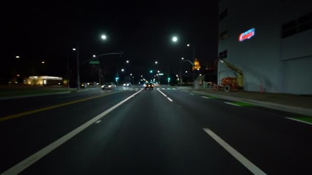 Autosalon Shallow Focus LA Santa Monica Blvd Eastbound 6 in Beverly Hills California USA
