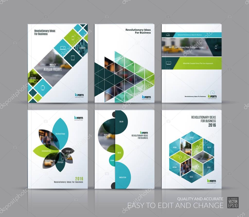 Decken Sie Design Geschäftsbericht, Broschüre Vorlage Layout ...