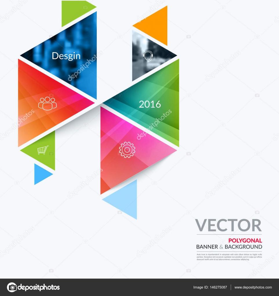 Business-Vektor-Design-Elemente für Grafiklayout. Moderne abstr ...