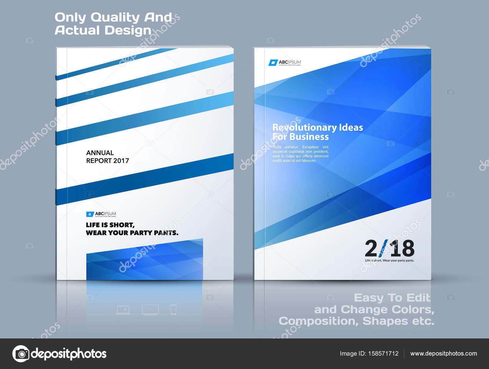Conjunto de plantilla de vector de negocio, diseño de folleto ...