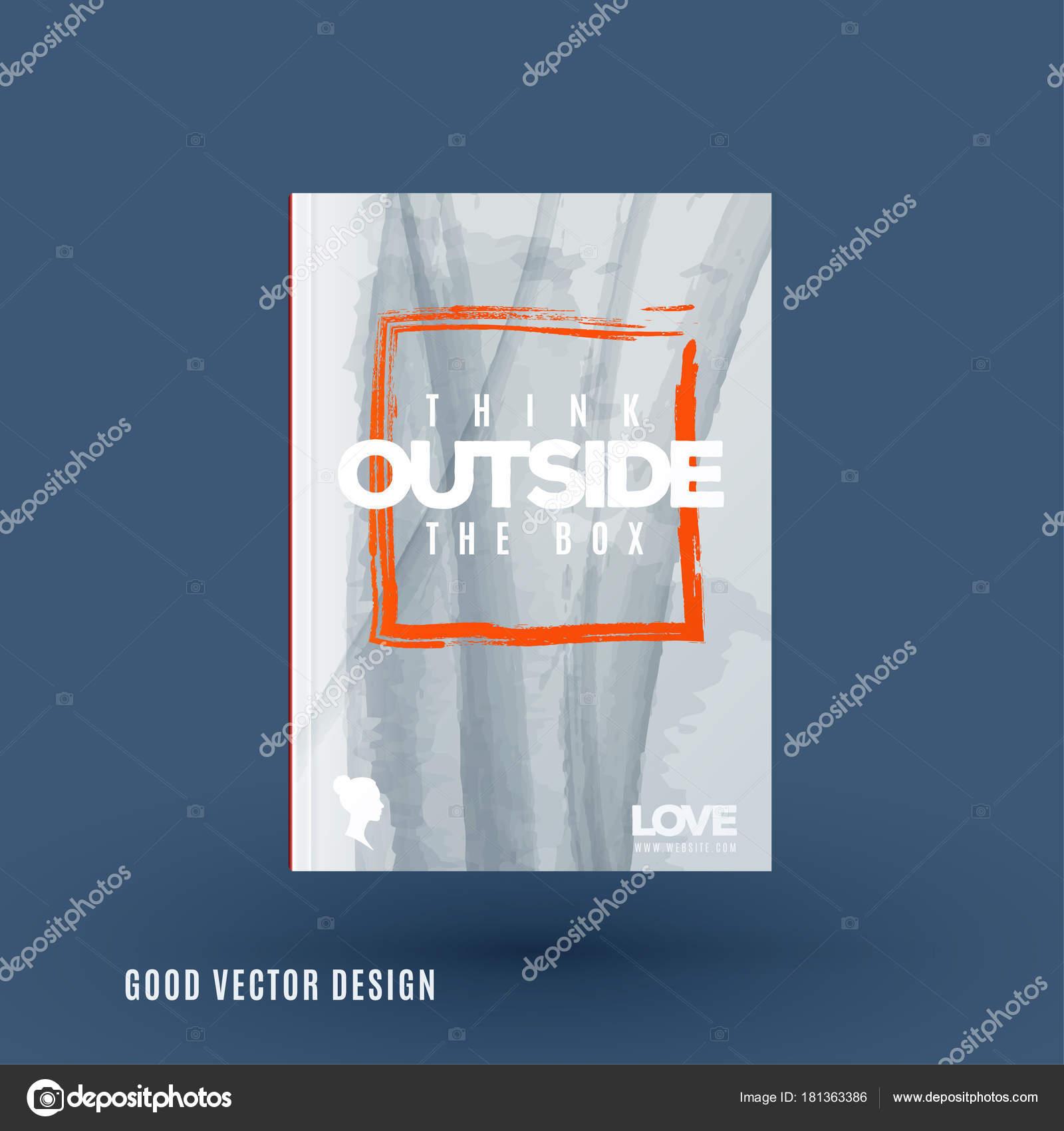 Resumen diseño de folleto de vector de negocio, plantilla cubierta ...