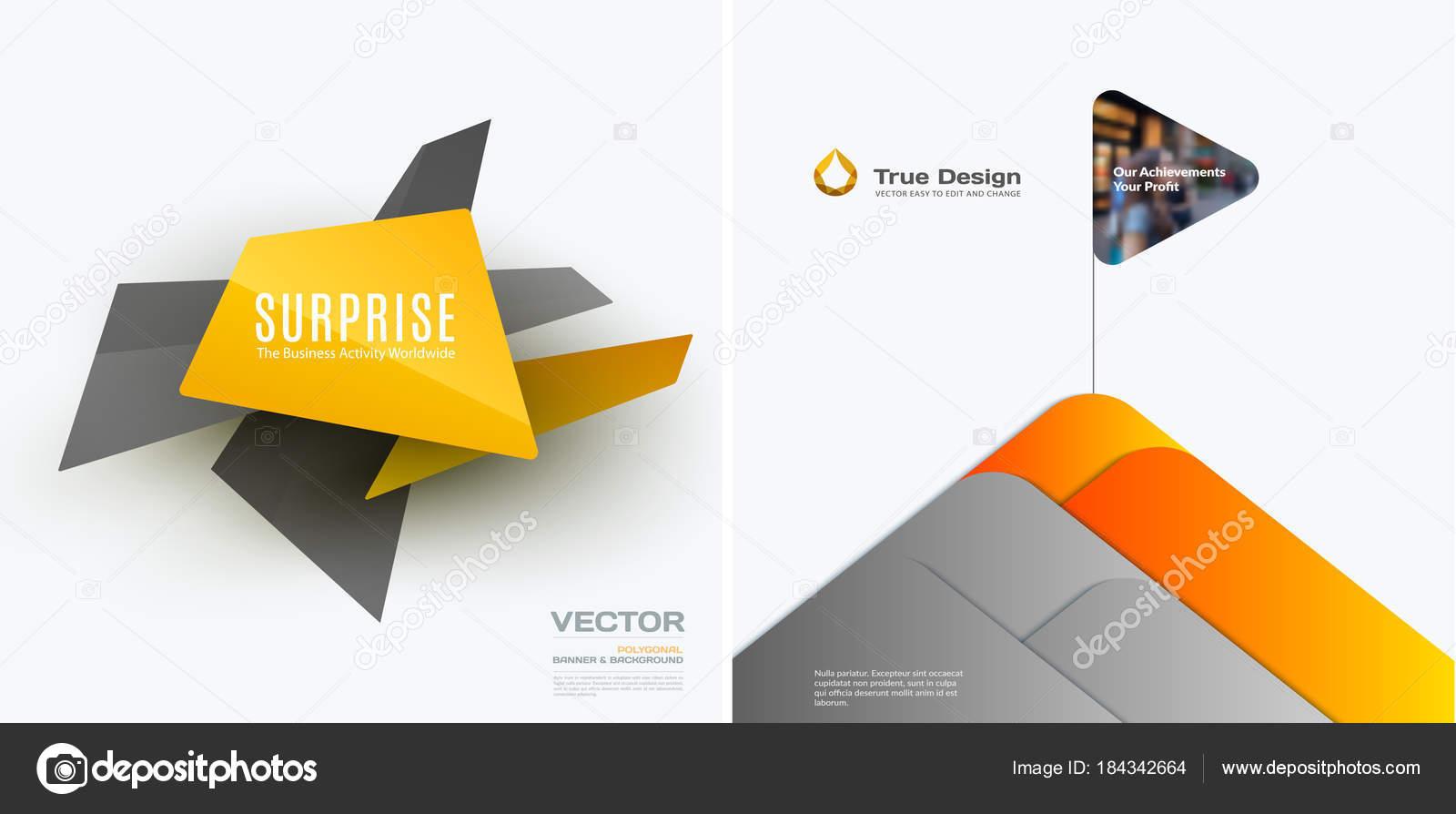 Abstraktes Vektor-Design-Elemente für grafische Vorlage. Kreative ...