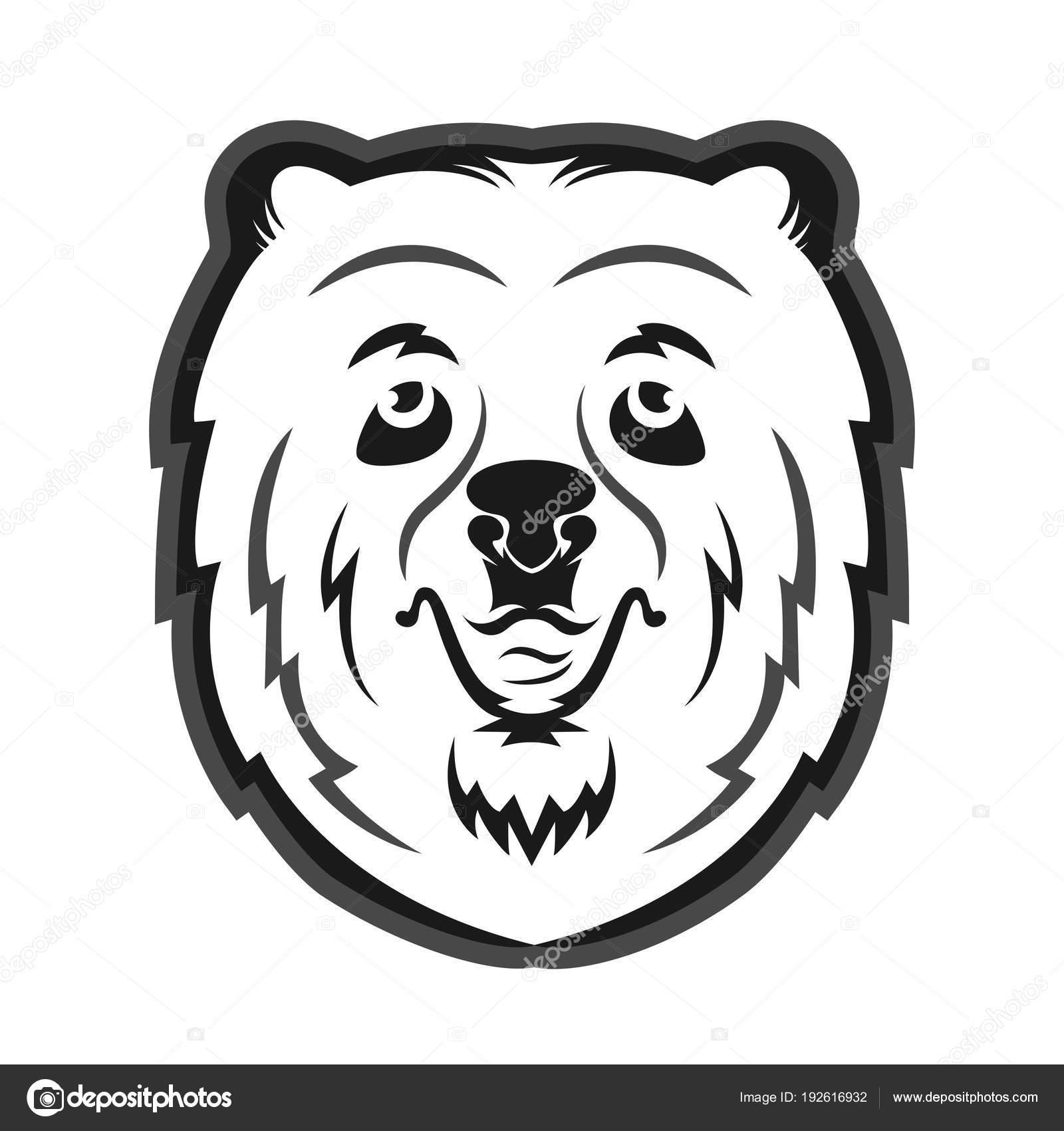 Oso Mascota Para Equipo Deportes Imprimir Una Camiseta — Archivo ...