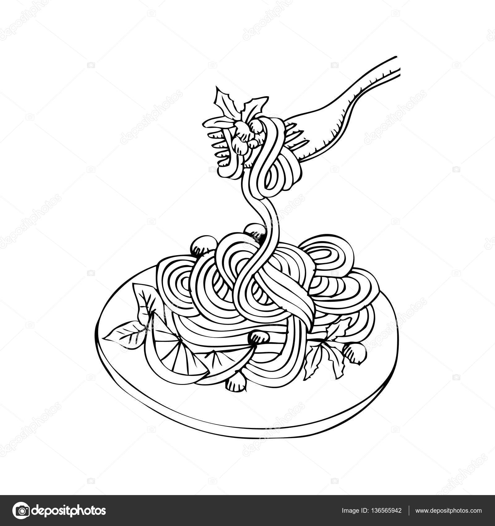 spaghetti doodle drawing stock photo 169 handini