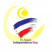 Malaysia Independence Day card.