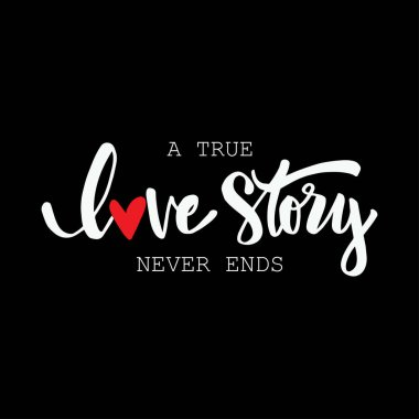 Get A True Love Story Never Ends Svg Image