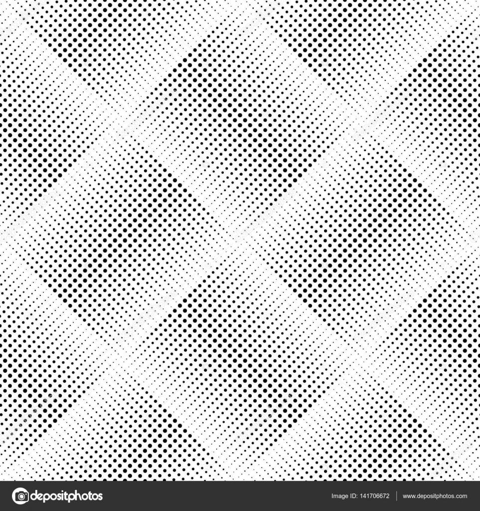 Línea de puntos geométricos de patrones sin fisuras — Vector de ...