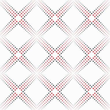 Dotted  line  geometric  seamless  pattern.