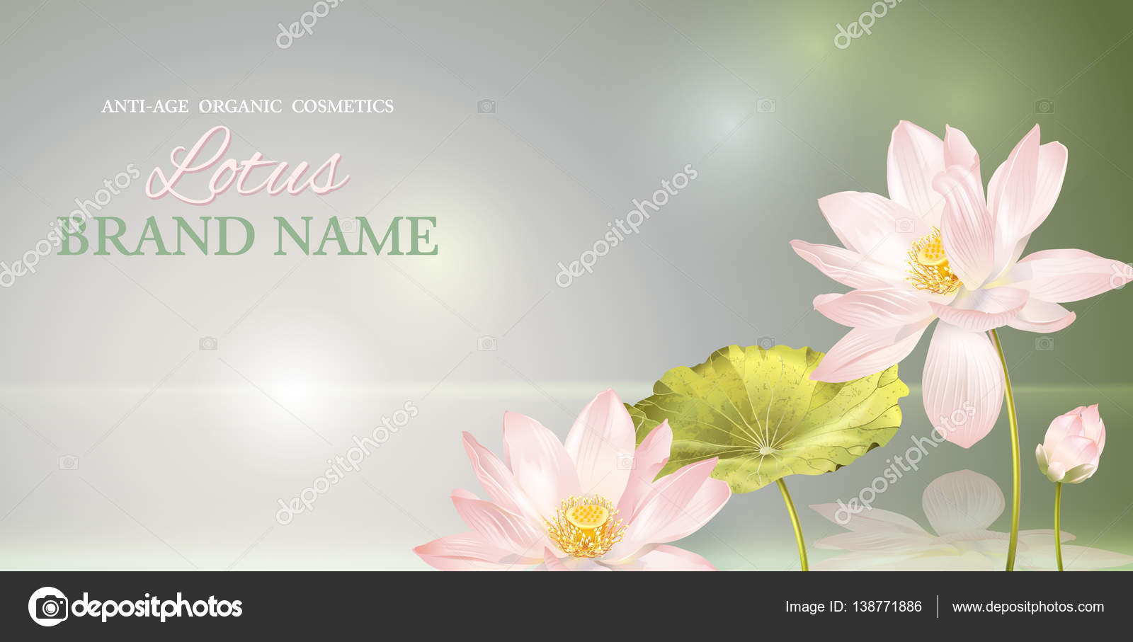 Lotus flower banner stock vector purplebird18 138771886 lotus flower banner stock vector mightylinksfo