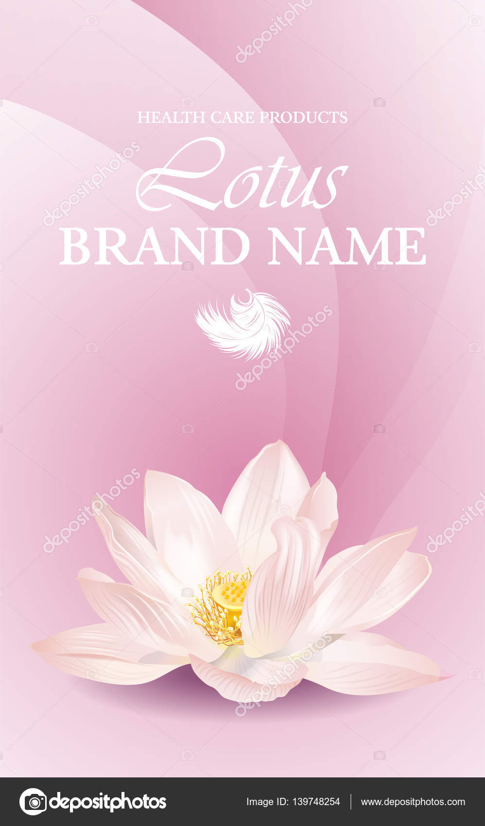 Lotus-Blume-banner — Stockvektor © PurpleBird18 #139748254