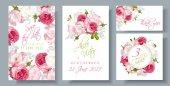 Růže svatební Pozvánka