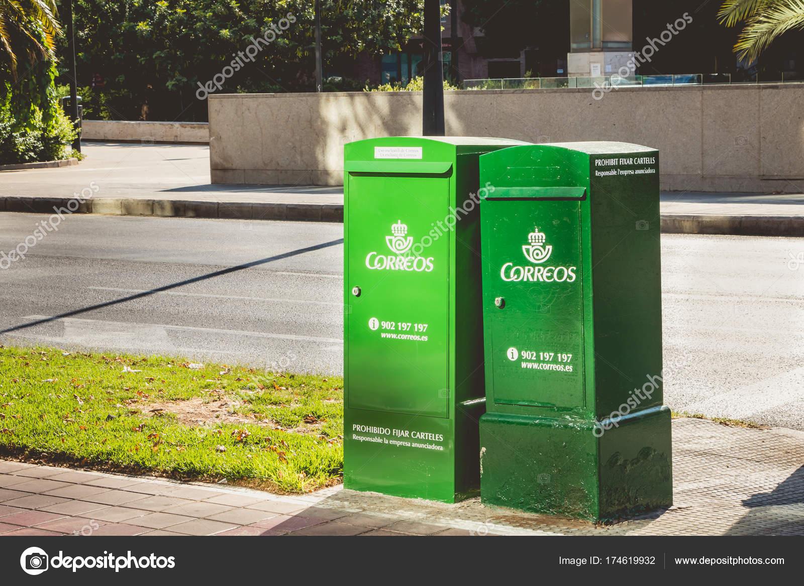 Voorkeur groene brievenbussen van het bedrijf Correos – Redactionele NO57
