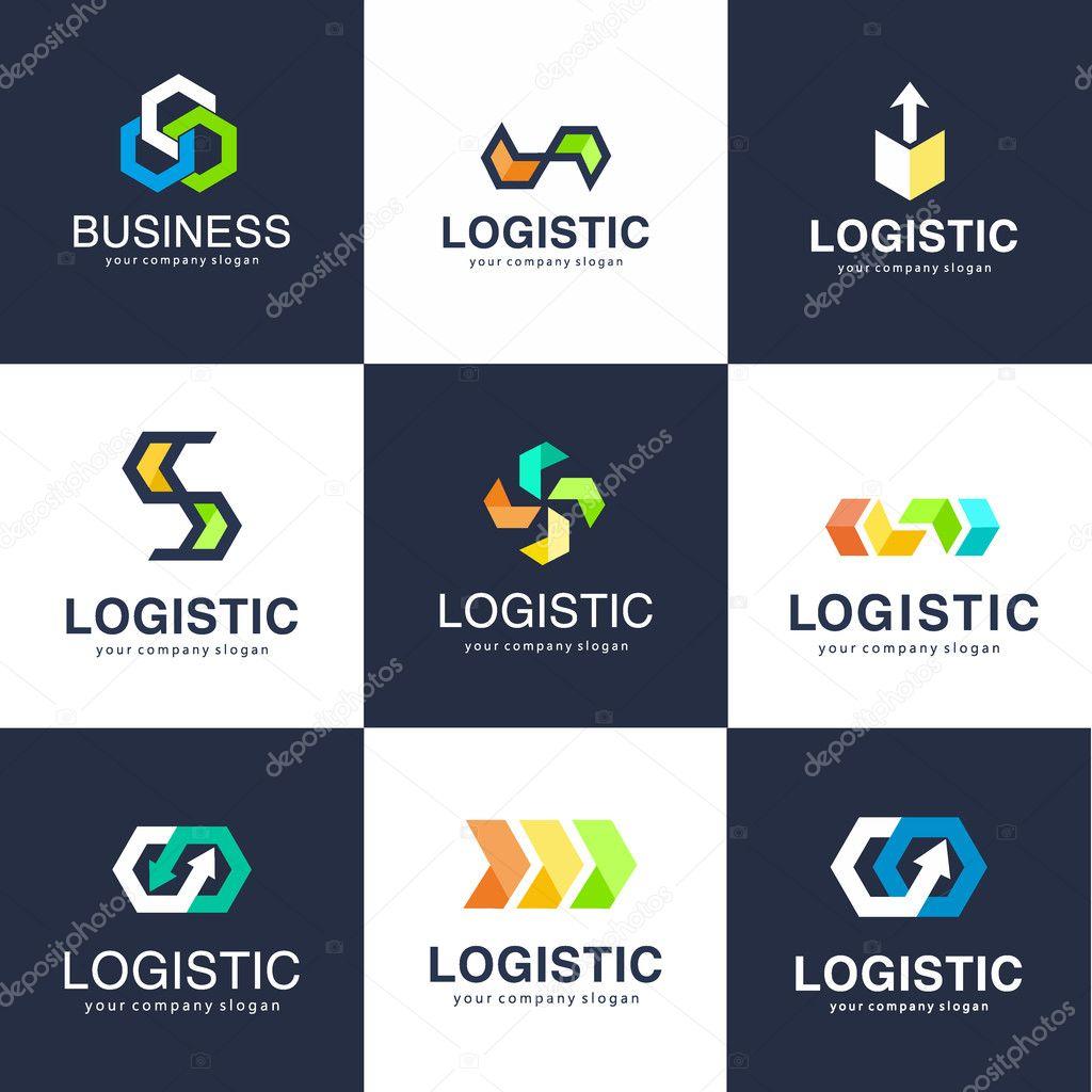 Modelo De Logotipo De Vetor Para Empresa De Log 237 Stica E