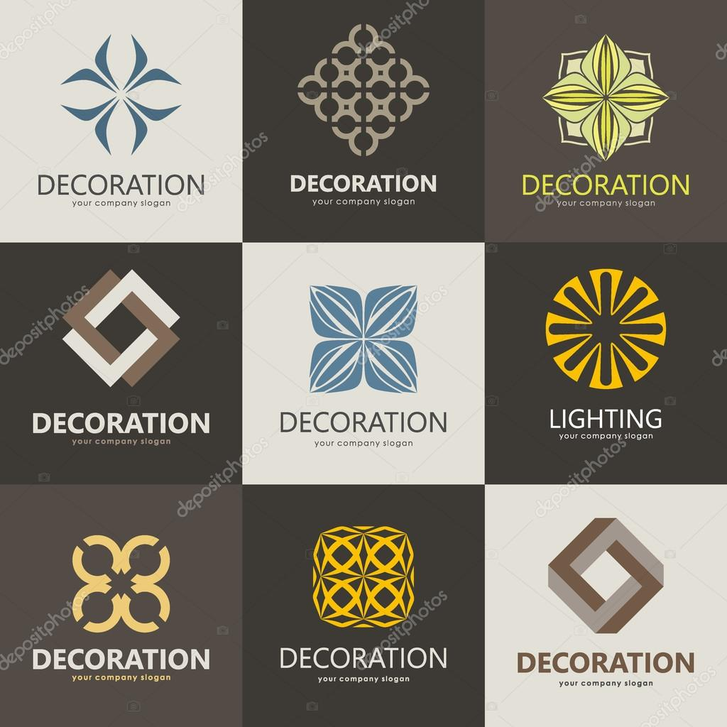 Beautiful A Collection Of Logos For Interior, Furniture Shops, Decor Items And Home  Decoration.