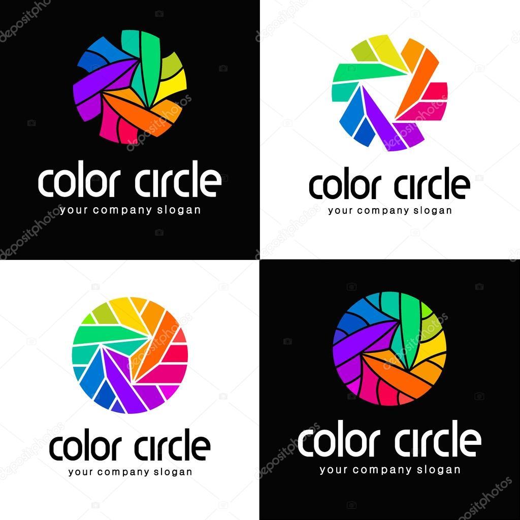 Fabulous de couleur de modèle de logo de vecteur. Idée de logo pour l  LD23