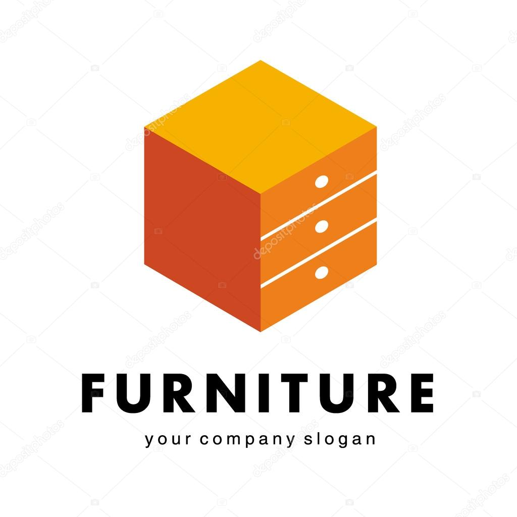 Logo For Furniture Companies Shops Stock Vector Kar