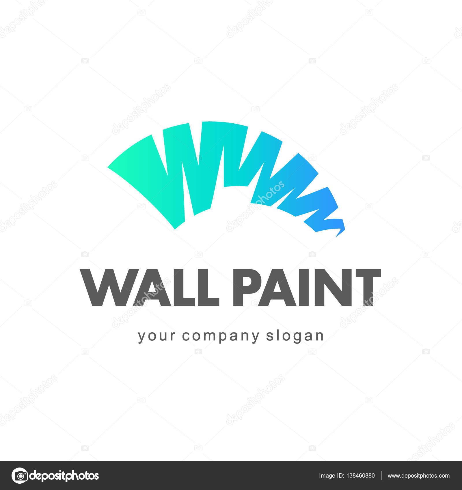 Design De Logotipo De Vetor. Pintura De Parede, Decoração Home, Decoração U2014  Vetores