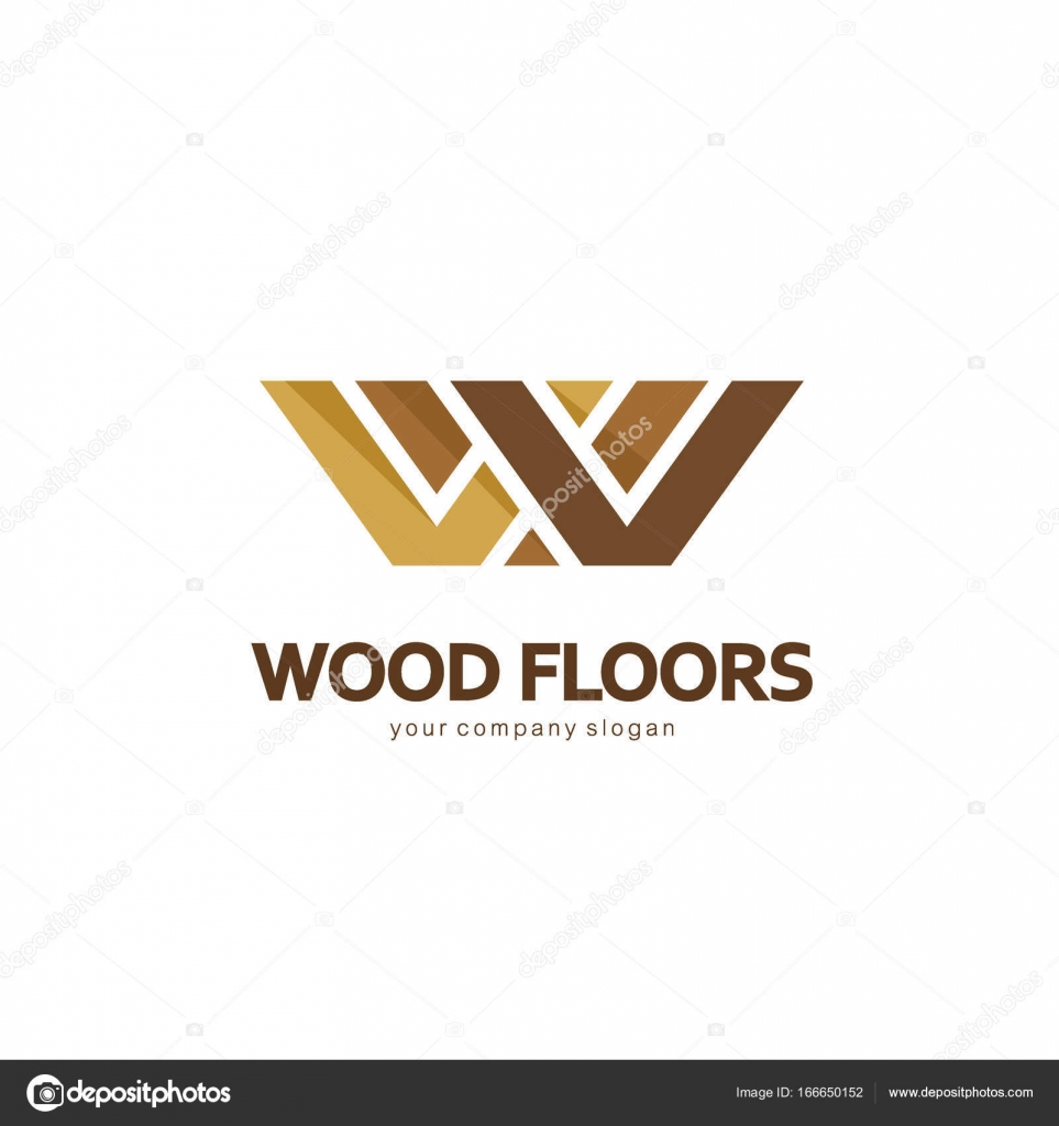 Vector Logo Template Design For Parquet Laminate Flooring Tiles Wood Floors By Kar Chik