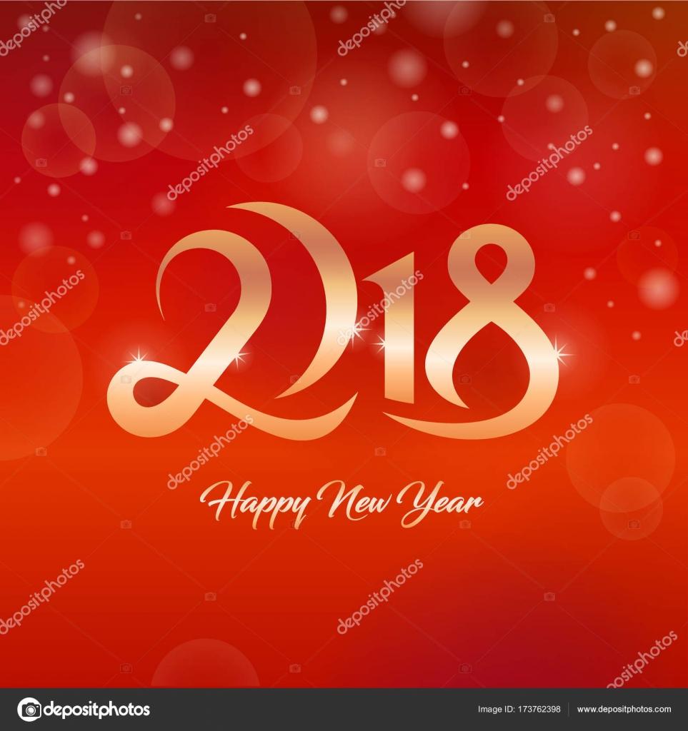 2018 happy new year greetings card stock vector kar chik 173762398 2018 happy new year greetings card stock vector m4hsunfo