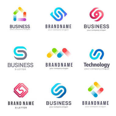 Collection of vector logos for business. Alliance, Unity, Team Work