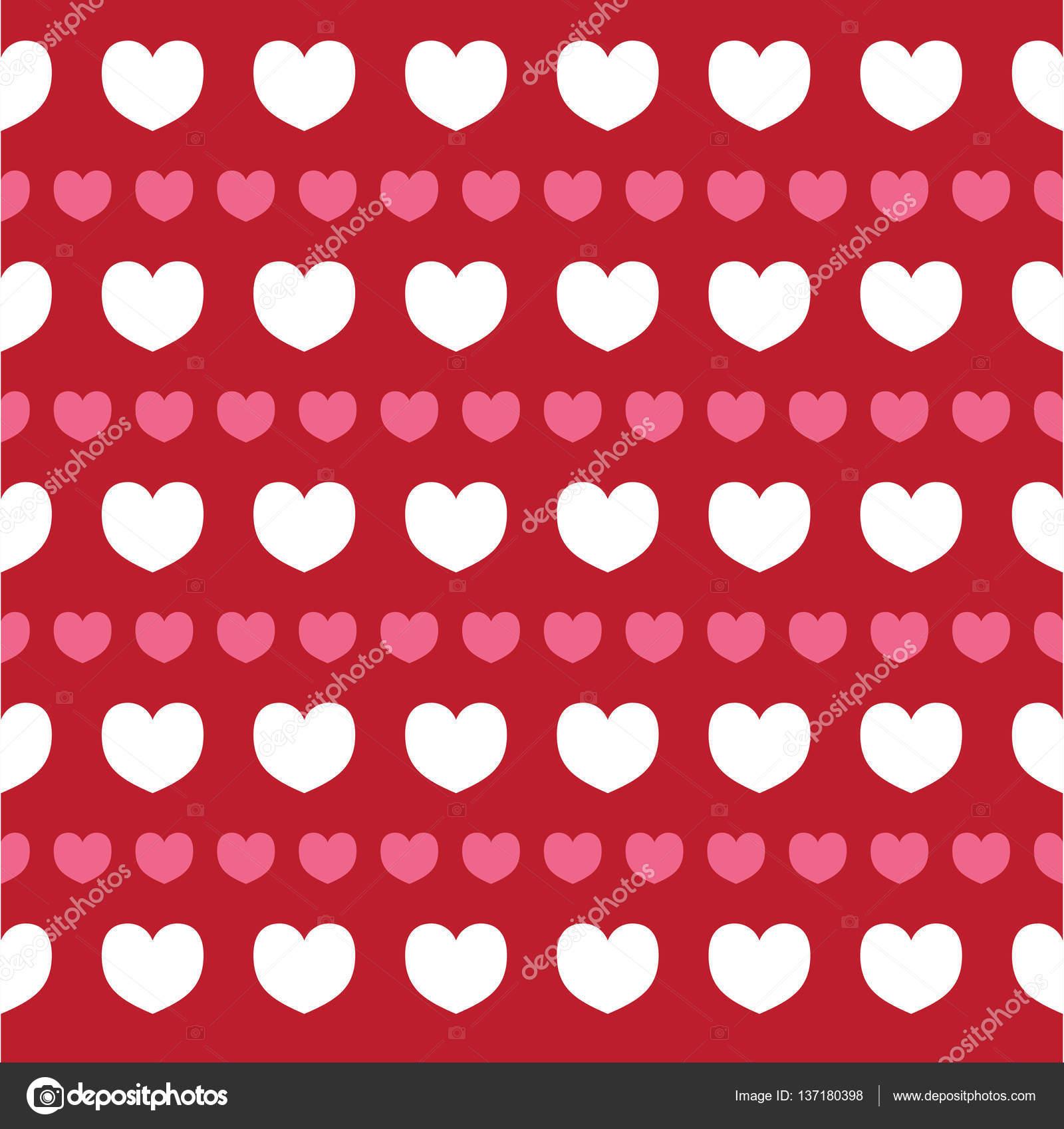 Carta Da Parati Modelli.Texture Romantico Giorno Di San Valentino Cuori Modello Per Carta