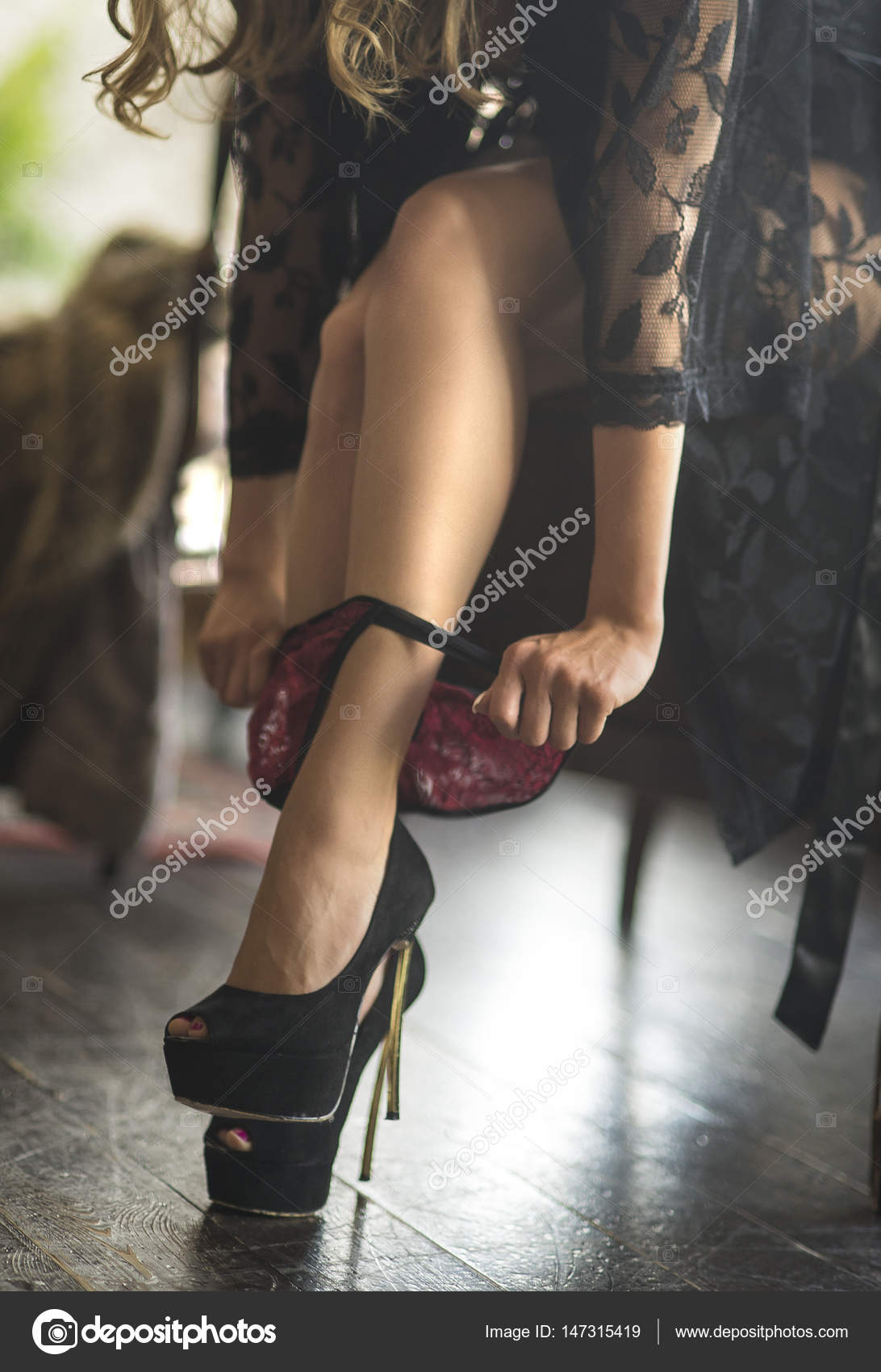 Sexy Legs Panties Heels