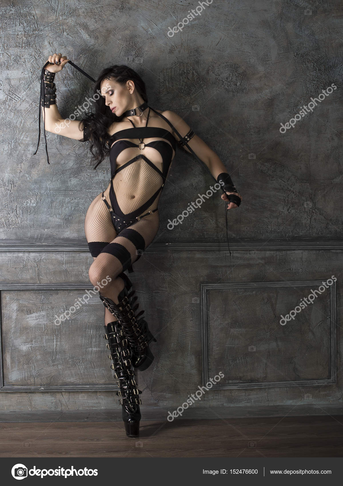 Woman in bdsm