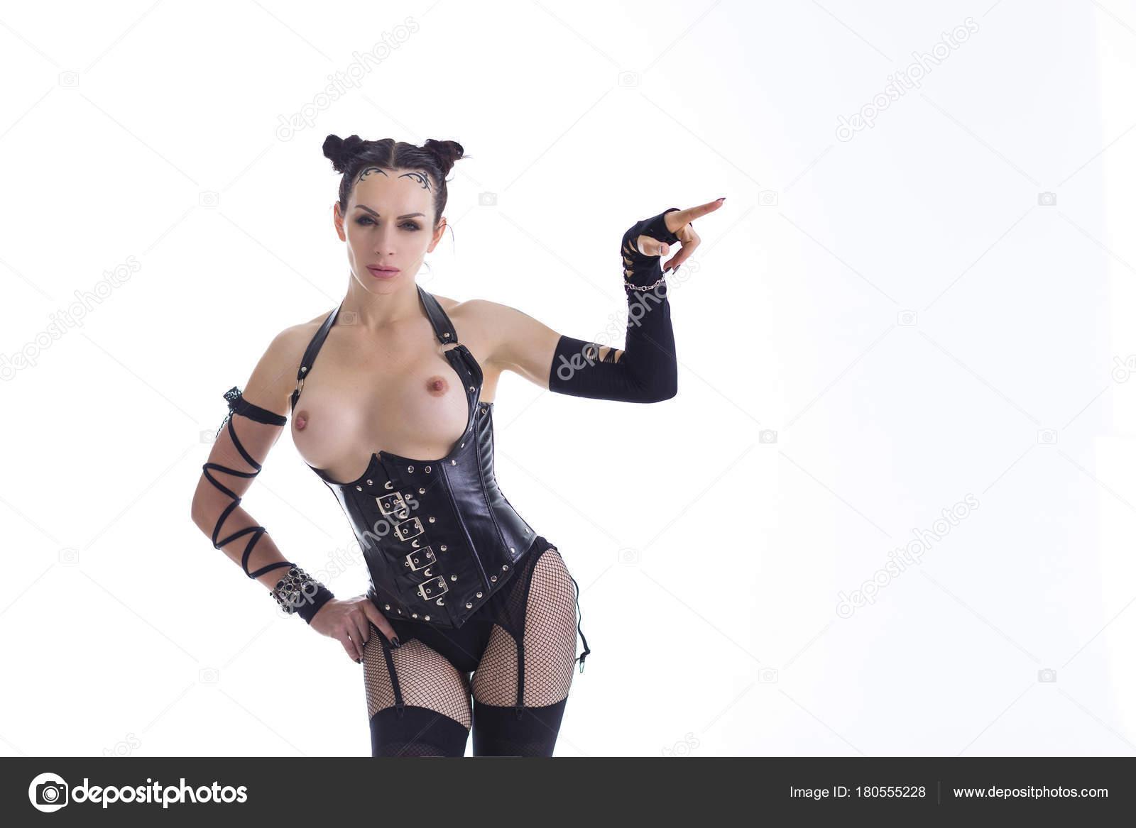 Âge Photographie Nus— En Moyen BdsmSeins Sexy Femme Costume De RAjL54