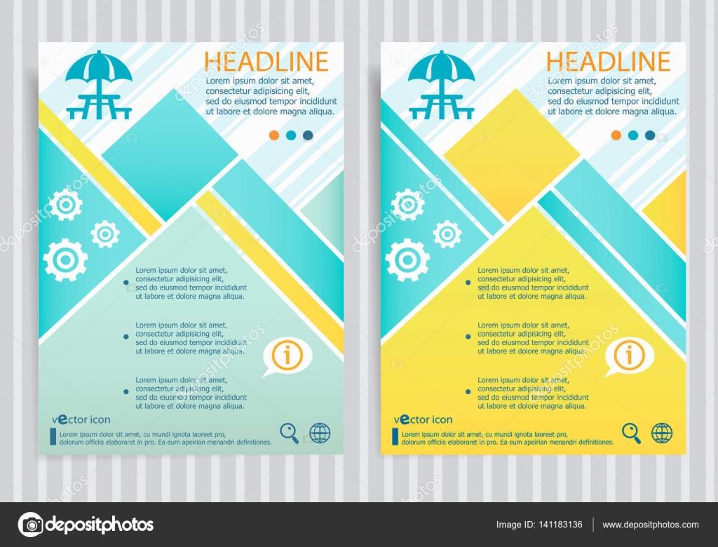 Símbolo de mesa de camping y picnic en vector folleto flyer diseño ...
