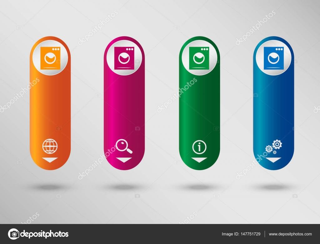 Lavadora en plantilla de diseño de infografía vertical, puede ser ...