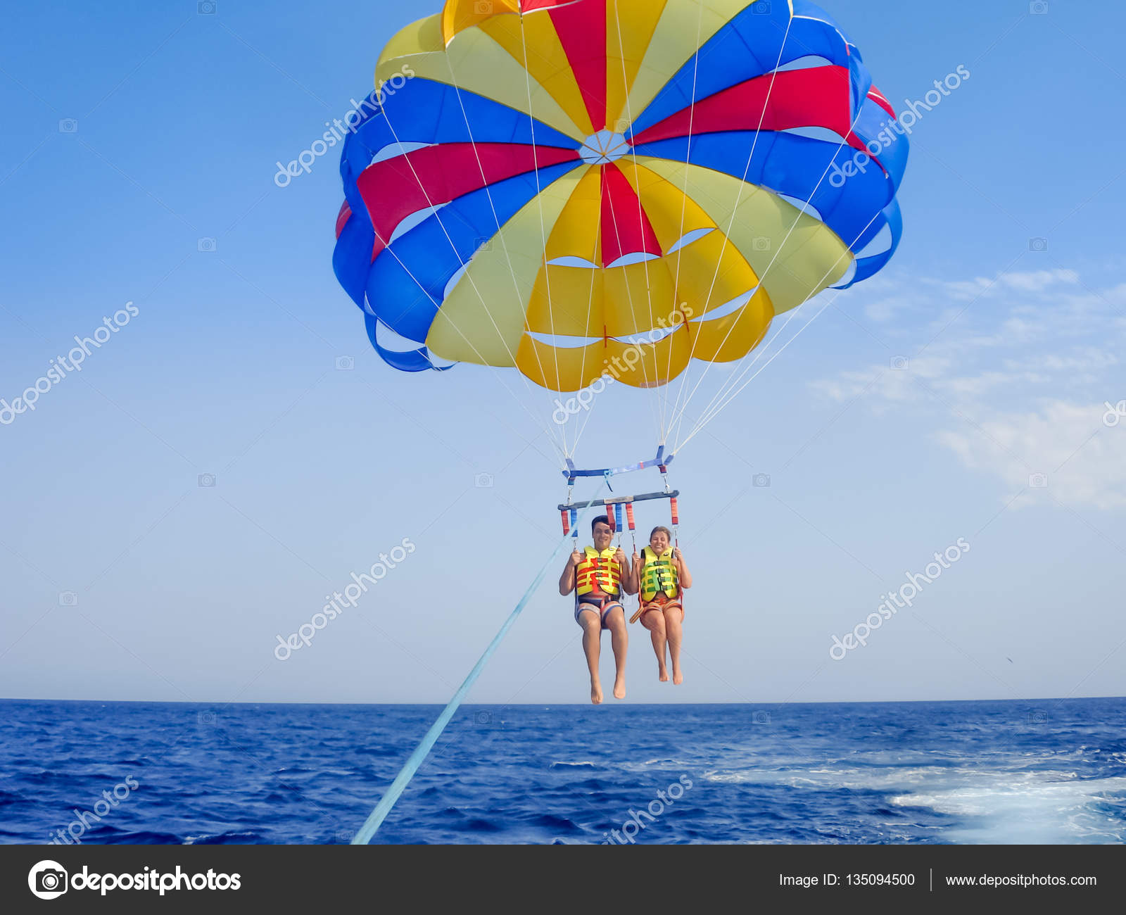 parachute ascensionnel in english