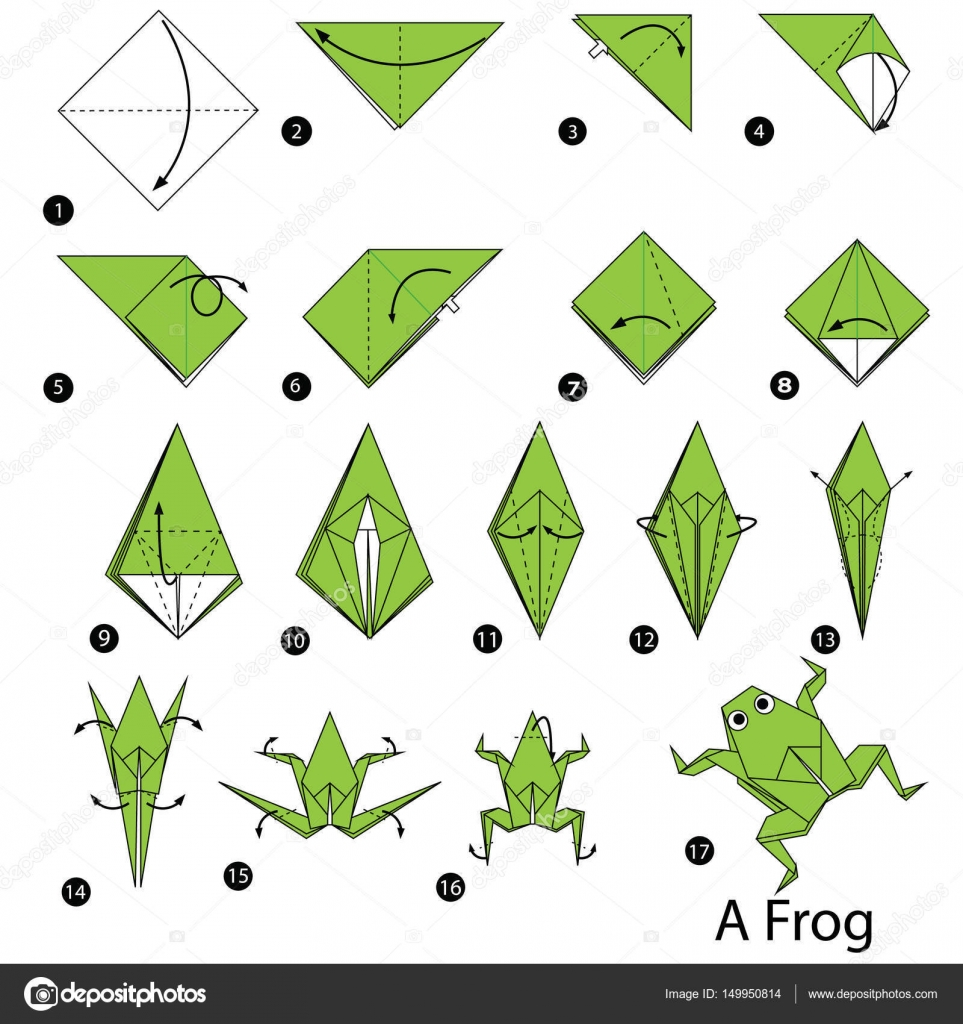 rana origami paso a paso pdf orgami how to make an easy