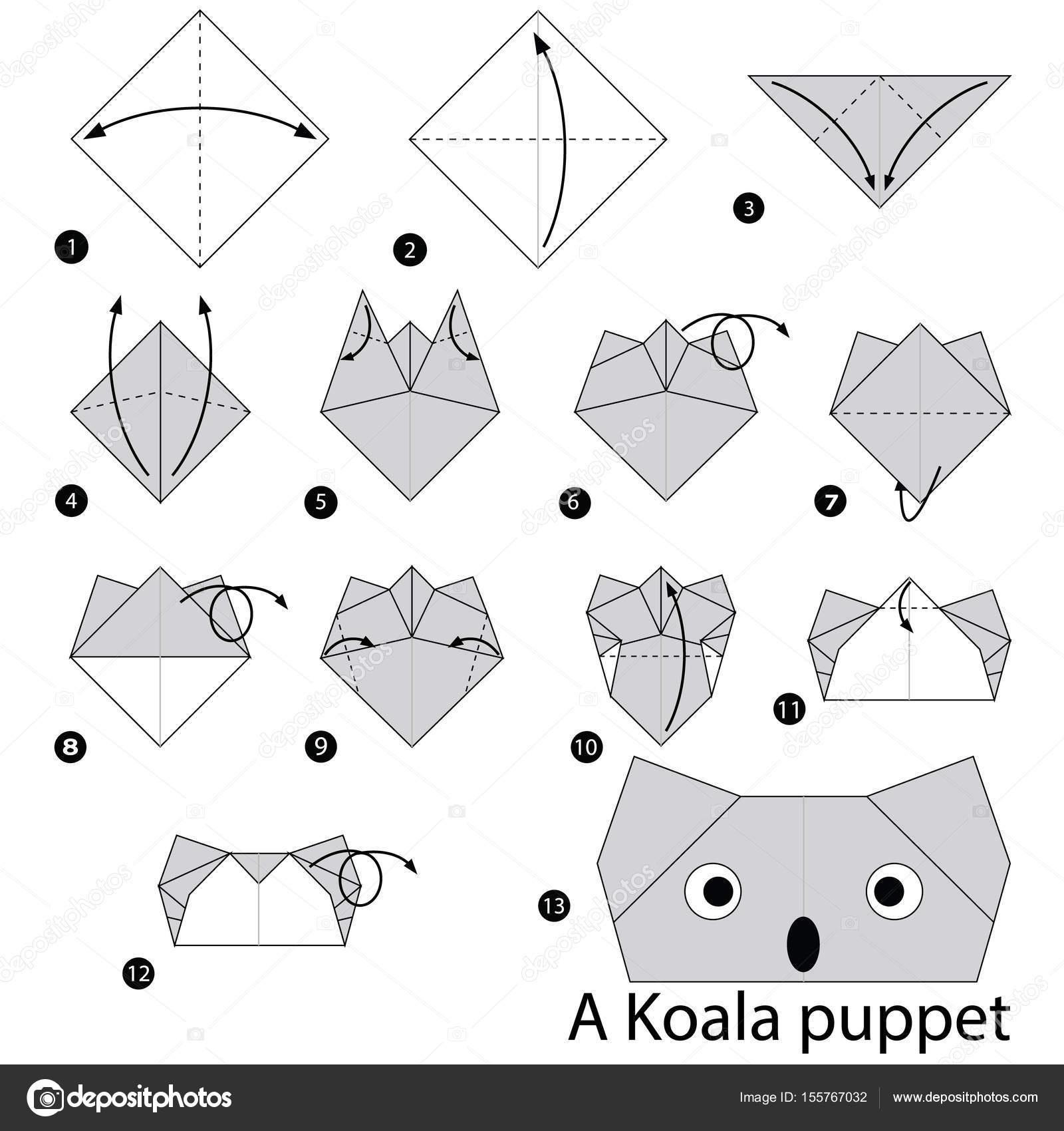Easy Origami Instructions Elephant - 500x707 PNG Download - PNGkit | 1024x963